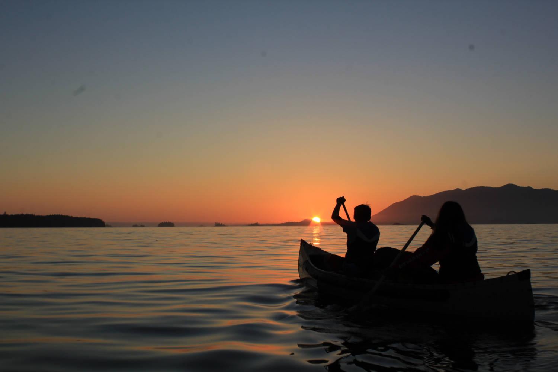 Sechelt explorer canoe
